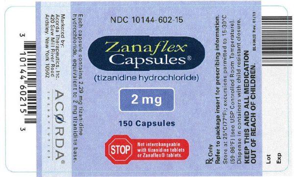 Order Zanaflex Online